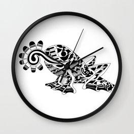 Frog Ecopet Wall Clock