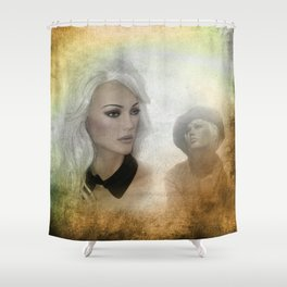 in the shop window -100- Shower Curtain