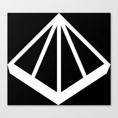 OMD Symbol Reversed Canvas Print