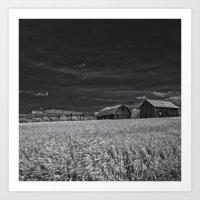 farm Art Prints featuring Farm by Jean-François Dupuis
