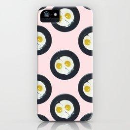Yin-yang breakfast iPhone Case