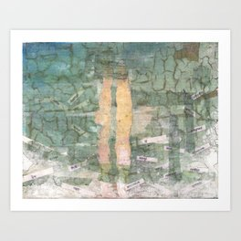 Broken Cities Art Print
