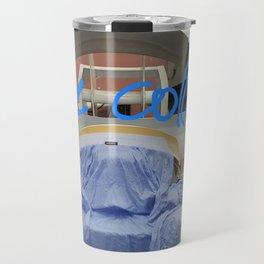 Literally a blue collar worker :) Travel Mug