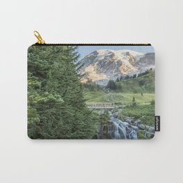Early Morning at Myrtle Falls Carry-All Pouch