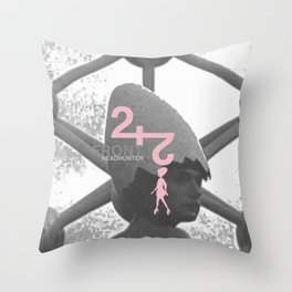 "Front 242 ""Headhunter"" Throw Pillow"