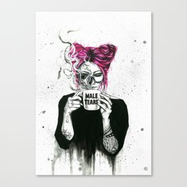 Queen of tears Canvas Print