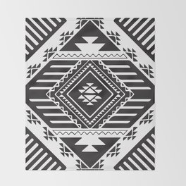 American Native Pattern No. 80 Throw Blanket