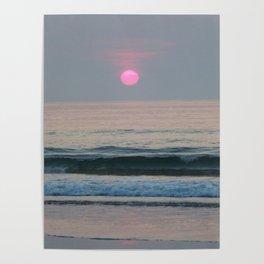 Pink Sun Poster