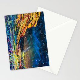 Concert at Red Rocks Painting  Stationery Cards