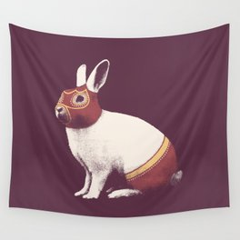 Lapin Catcheur (Rabbit Wrestler) Wall Tapestry