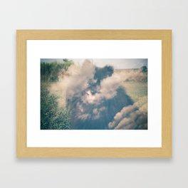 Milo in the sky with diamonds Framed Art Print