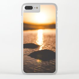 Tiny Islands Clear iPhone Case