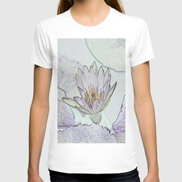 Waterlily Abstract T-shirt