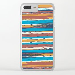 Tuscan painted summer Clear iPhone Case