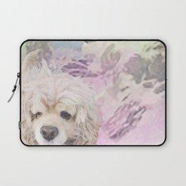 Snow Dog (for Philippa) Laptop Sleeve