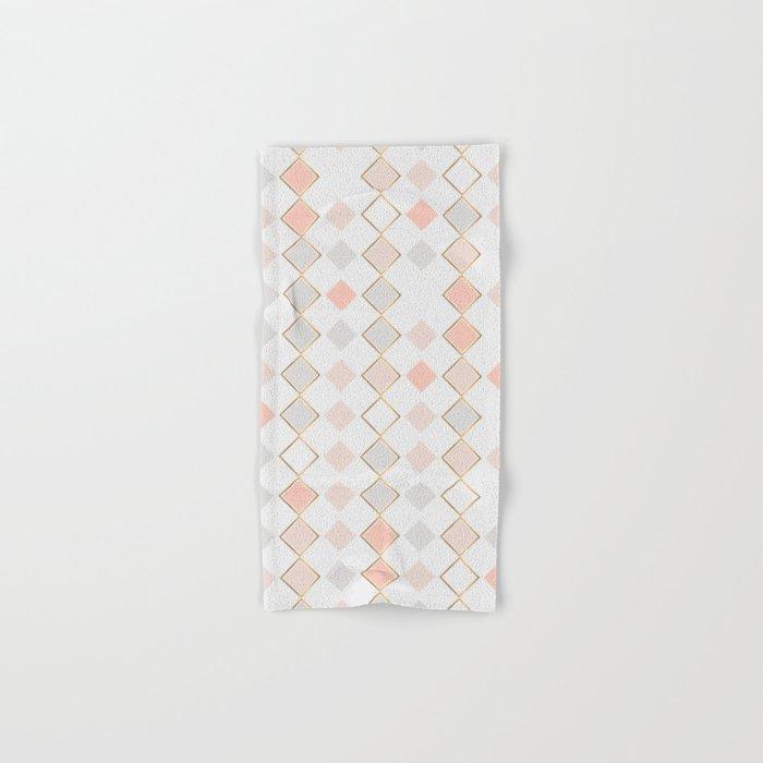 Pattern Rose Hand & Bath Towel