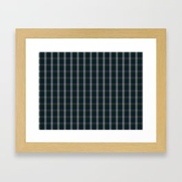 Graham Dress Tartan Framed Art Print