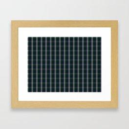 Graham Dress Tartan Framed Art Print
