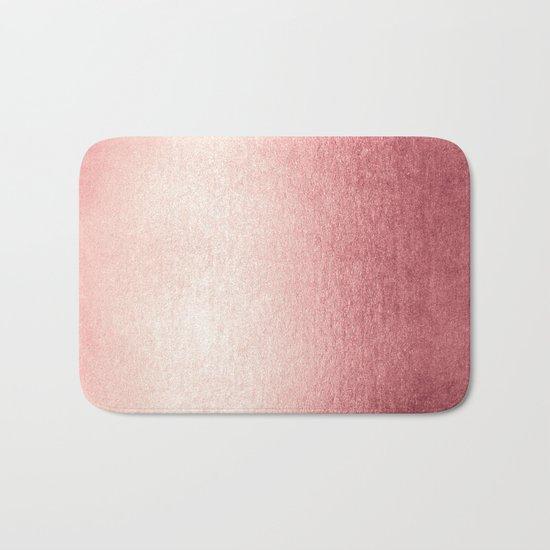 Simply Rose Gold Twilight Bath Mat