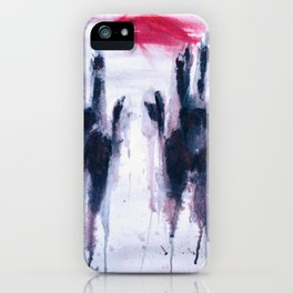 Feel me iPhone Case
