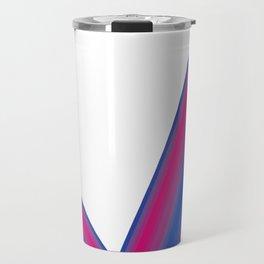 Bisexual Pride Check Mark Travel Mug