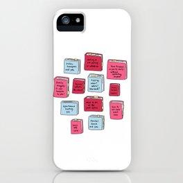 A Better Curriculum iPhone Case