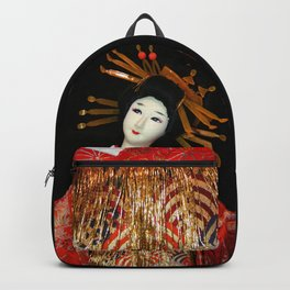 Oiran in Red Backpack