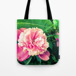 Paeony love Tote Bag