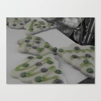 cookies Canvas Prints featuring Cookies by maybe