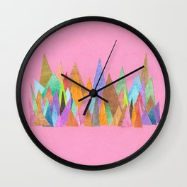 Landscape Sprouts 1 Wall Clock