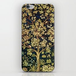 William Morris Tree Of Life iPhone Skin