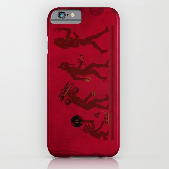 Music (R)Evolution 1.0 iPhone & iPod Case
