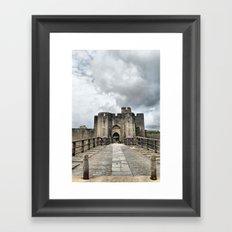 Caerphilly Castle 2 Framed Art Print
