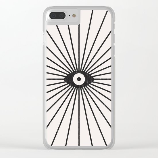 Big Brother Clear iPhone Case