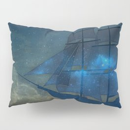 Ships and Stars Pillow Sham