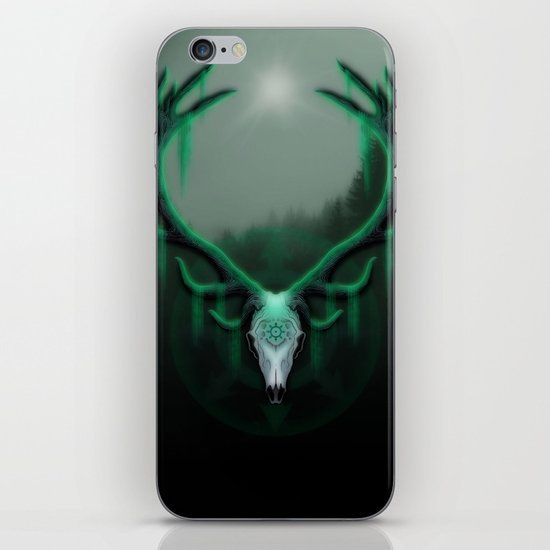 Wild Horns iPhone Skin