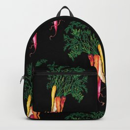Food illustration - A beautiful bunch of carrots  Backpack
