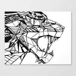 Smilodon Canvas Print
