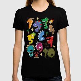 Baby Dinosaur Numbers T-shirt