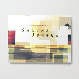 Salina Journal Metal Print