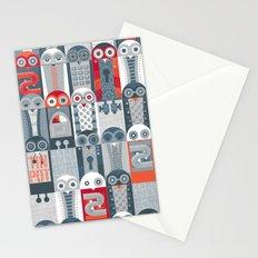 Tin Pot Owl-Bot Parliament  Stationery Cards