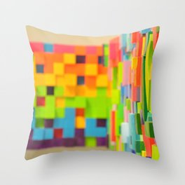 Wall Scape Throw Pillow