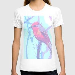 BIRD CARDENAL PASTEL T-shirt