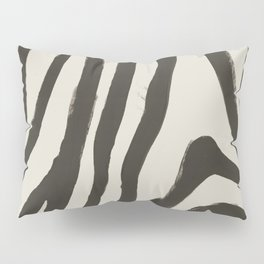 Painted Zebra Pillow Sham