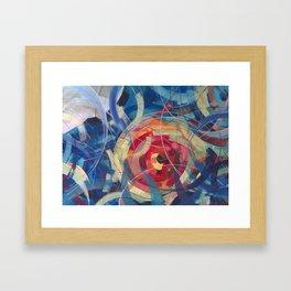 Tidal Bore II Framed Art Print