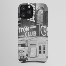 African American Harlem Renaissance Cotton Club Jazz Age Photograph iPhone Case