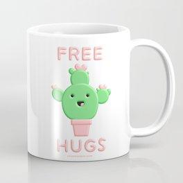 Free Hugs Cactus Coffee Mug
