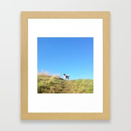 Looking for an adventure!  Framed Art Print
