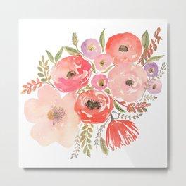 Flower Profusion Metal Print