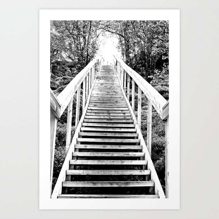Only Way is Up #decor #society6 Art Print